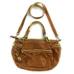 Fossil Womens Handbag Shoulder Bag Purse, Medium